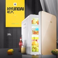 Hình ảnh Tủ lạnh mini 20L Sử Dụng Cho Ôtô Và Gia Đình. 2 Mức Điện Áp 12V/220V