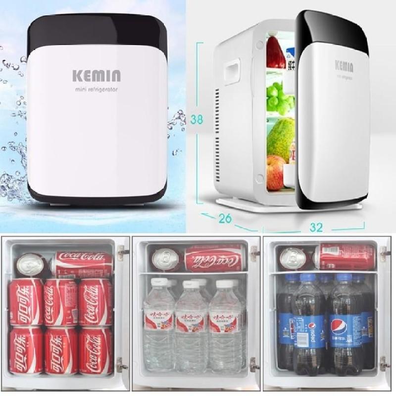 Tủ lạnh mini Kemin 15l - 2 chiều nóng lạnh