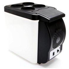 Hình ảnh Tủ lạnh mini ô tô du lịch gia đình 206083 (Trắng) tặng xâu tiền ngũ đế cầu tài lộc