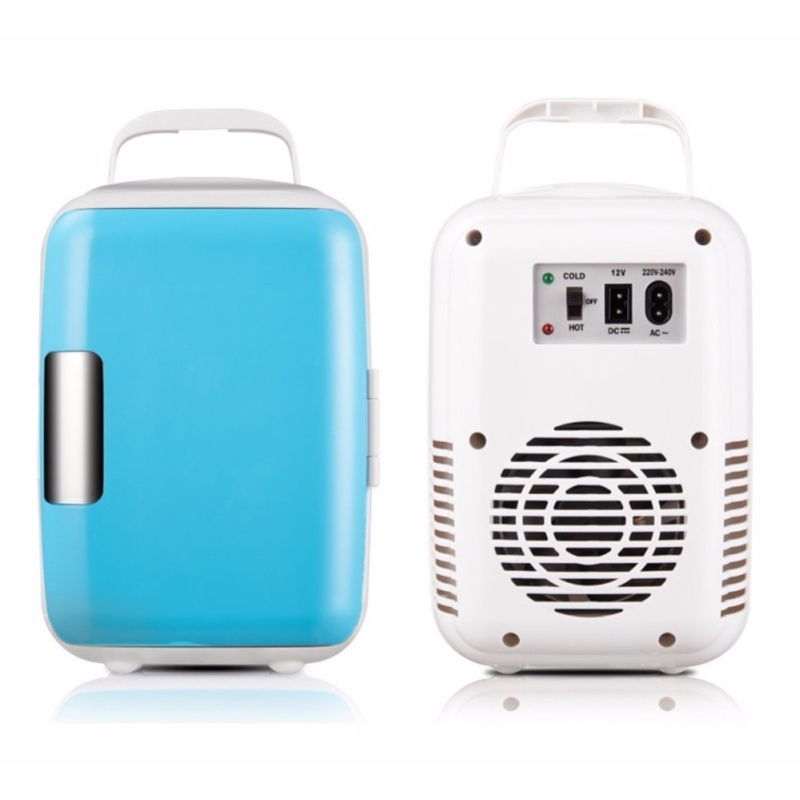 Tủ lạnh - nóng 2 chiều đa năng 4L GICOLY (xanh) - (BQ248-XANH)