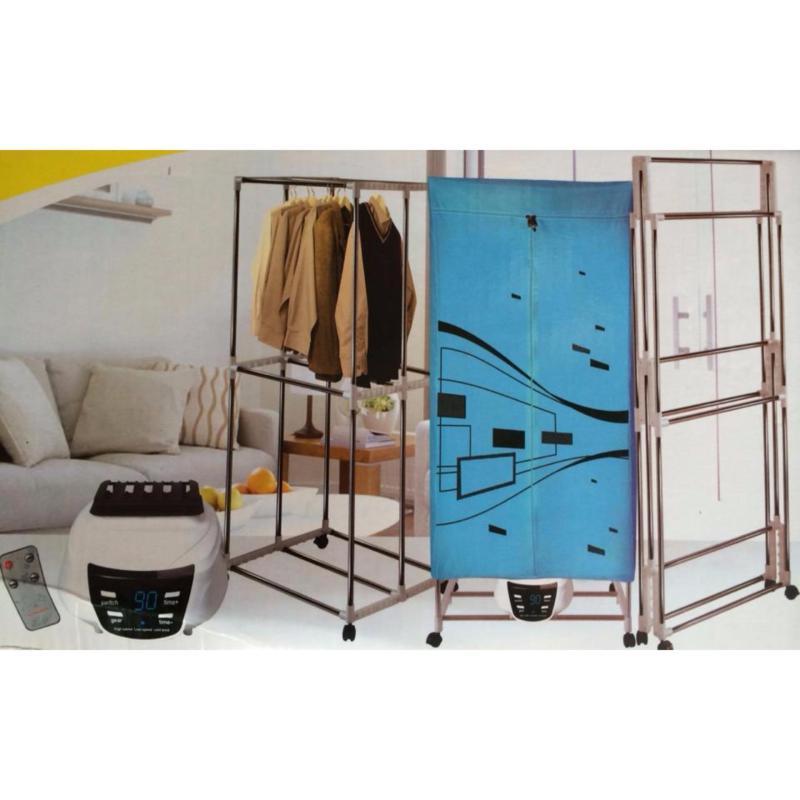 Tủ sấy khô quần áo kiêm dàn phơi 2 tầng HOLTASHI