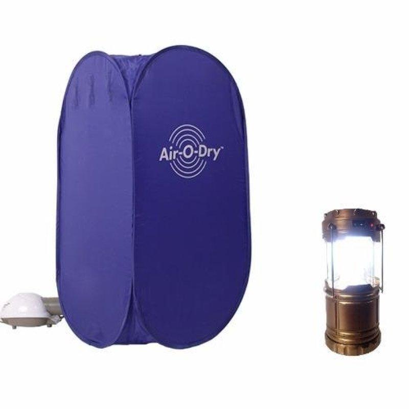 Tủ sấy quần áo AIR- O- DRY + Tặng kèm đèn tích điện đa năng(Xanh dương)