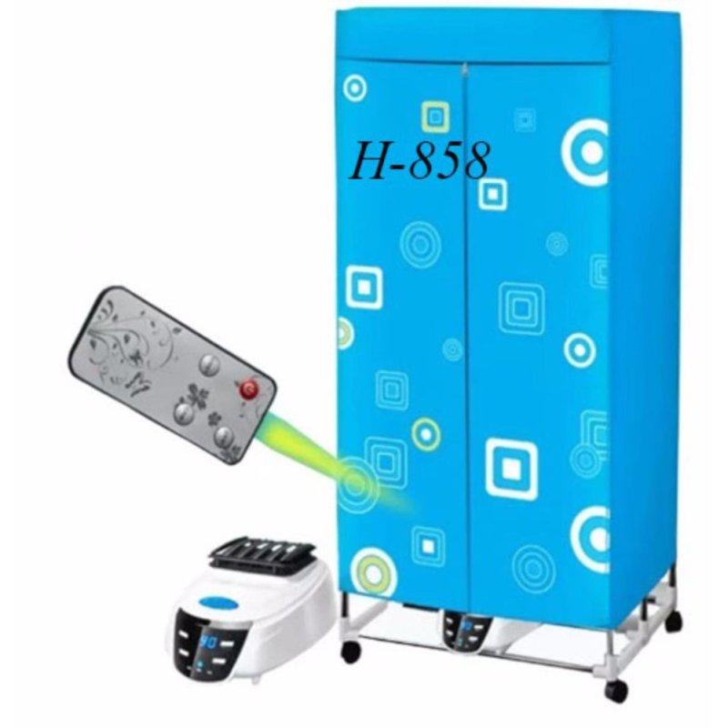 Tủ sấy quần áo Epzone H-858 (loại Cơ) (Xanh dương nhạt)
