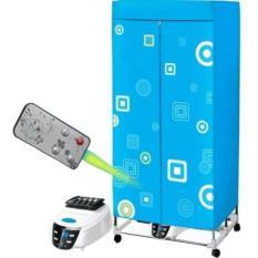 Hình ảnh Tủ sấy quần áo Tiết kiệm 50% điện năng, khung inox, 2 tầng, điều khiển từ xa - Kmart
