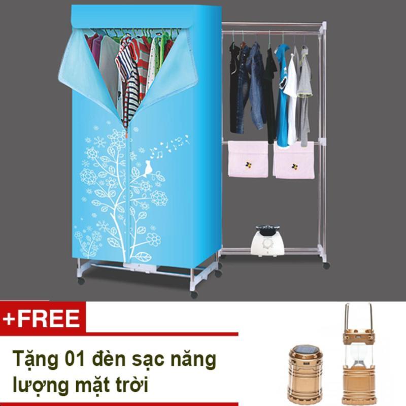 Tủ sấy quần áo Sun Dryer + Tặng đèn sạc năng lượng mặt trời