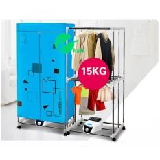 Hình ảnh Tủ sấy quần áo Tiết kiệm 50% điện năng, khung inox, 2 tầng, điều khiển từ xa