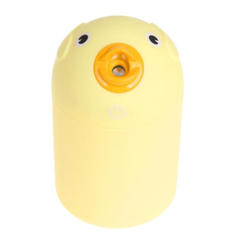 Bảng giá USB Văn Phòng Sáng Tạo Xe Hoạt Hình Vịt Vàng Máy Phun Sương Tạo Độ Ẩm Mini (Màu Vàng)-quốc tế