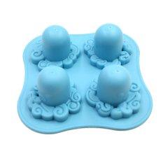 Hình ảnh Velishy Octopus Ice Tray Blue - intl