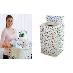 Hình ảnh Vỏ bọc máy giặt cửa trên (trắng phối hoa)(…)
