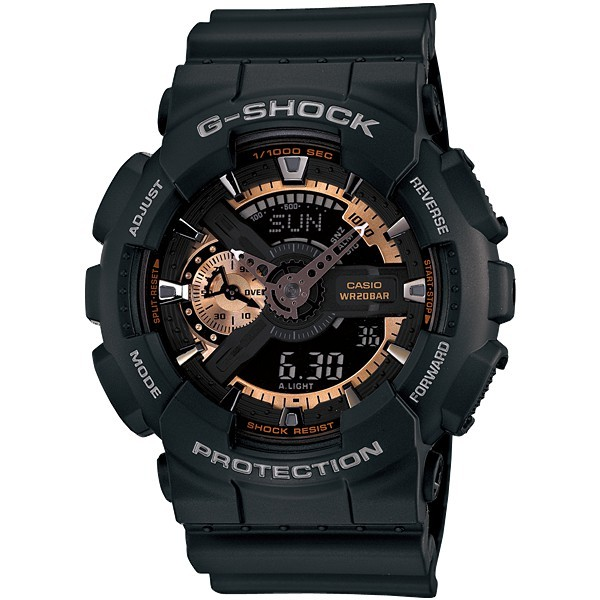 Nơi bán Đồng Hồ Casio G-Shock GA-110RG-1A - Đồng hồ G Shock thể thao nam phiên bản giới hạn , Full box , chống nước chống xước , full chức năng autolight ...