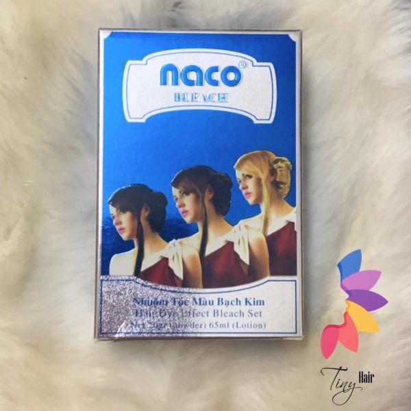 Bột tẩy tóc Naco Bleach - Nhuộm tóc màu bạch kim TinyHair