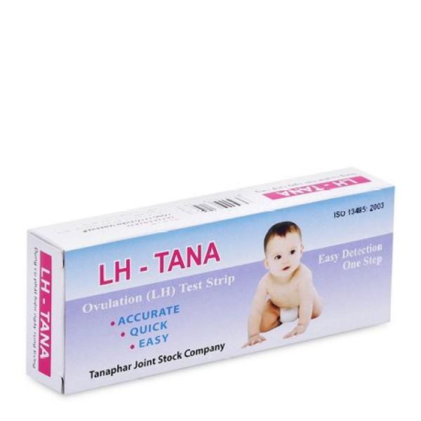 Que thử rụng trứng LH Tana, phát hiện thụ thai sớm, test nhanh - Hộp 1 que