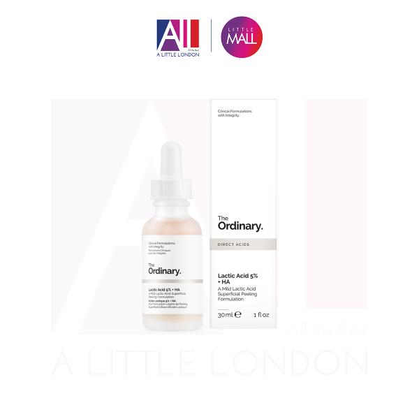 Tinh chất AHA The Ordinary Lactic Acid 5% + HA 30ml (Bill Anh) giá rẻ