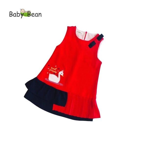 Đầm Thiên Nga Xếp Ly điệu đà bé gái BabyBean (8kg - 20kg)