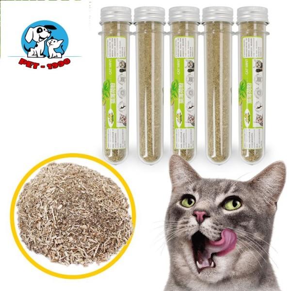 Ống Catnip Cho Mèo - Cỏ Bạc Hà Giúp Mèo Thư Giãn