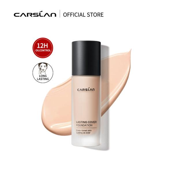 Carslan Oil Control Liquid Foundation Matte Cover Makeup 24H Long Lasting 30ml