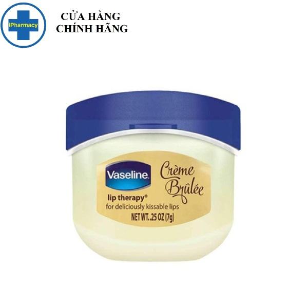 Sáp Dưỡng Môi Ngọt Ngào Vaseline 7g Lip Therapy Creme Brulee cao cấp
