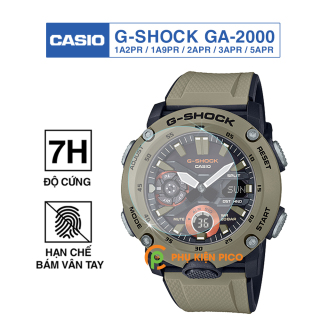 Cường lực đồng hồ Casio G-Shock Ga-2000 1A2PR 1A9PR 2APR 3APR 5APR độ cứng 7H chống trầy xước Dán màn hình Casio thumbnail