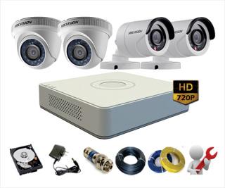 Trọn bộ 2 camera HIKVISION 2.0 MP Full HD - Đủ phụ kiện thumbnail