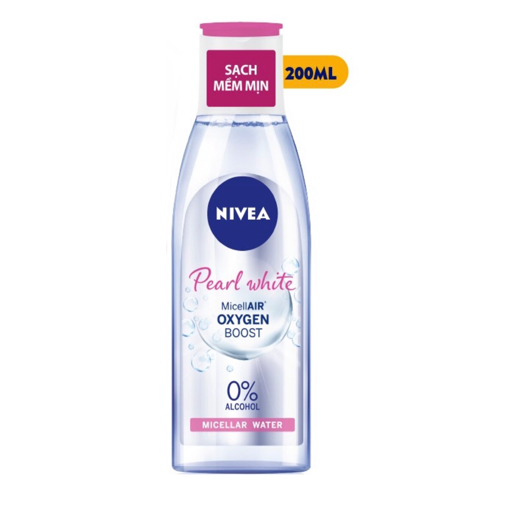Nước Tẩy Trang Nivea Extra Bright Make Up Clear Cleansing Water  (200ml)