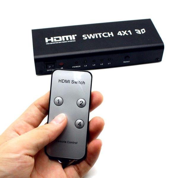 Giá BỘ GỘP HDMI SPLITTER 4 VÀO 1 RA CHUẨN 2K