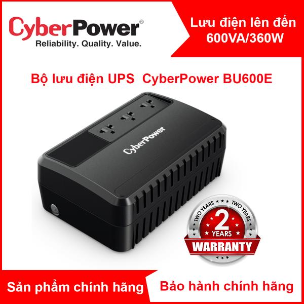 Bảng giá Bộ lưu điện CyberPower BU1000EA - 1000VA/600W - BH 24 Tháng Phong Vũ