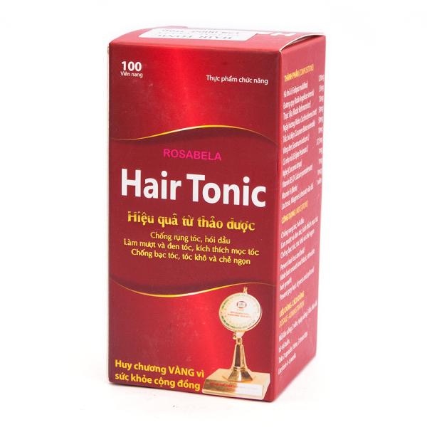 Viên Uống Mọc Tóc Rosabela Hair Tonic - Hộp 100 Viên giá rẻ