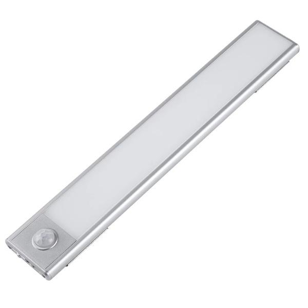Bộ đèn LED cảm ứng tiện dụng gắn tủ quần áo , tủ chén , cầu thang tự động sáng , tích hợp pin sạc.