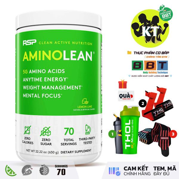 All In One - Tăng cơ & Giảm mỡ & Phục hồi Amino Lean - 70 Liều dùng nhập khẩu