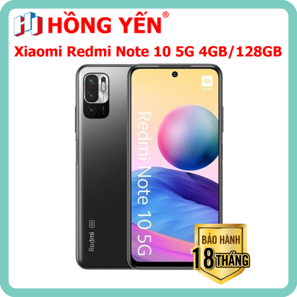 Điện thoại Xiaomi Redmi Note 10 5G (4GB/128GB) MỚI 100%, Nguyên Seal - Hàng Chính Hãng Digiworld - Bảo Hành 18 Tháng