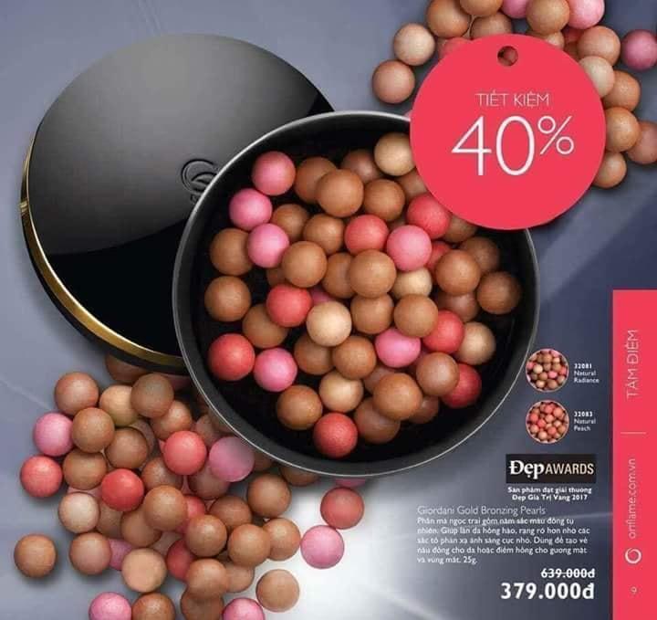Phấn má hồng ngọc trai Giordani Gold Bronzing Pearls 32081 tốt nhất