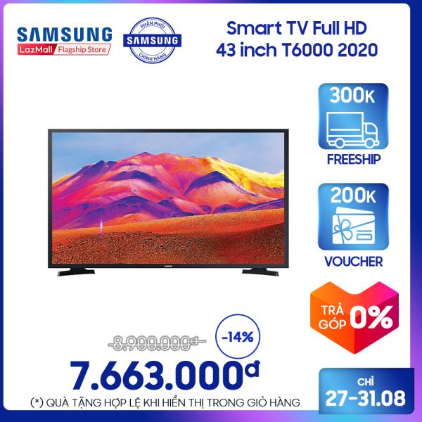 Bảng giá Smart TV Samsung Full HD 43 inch T6000 2020
