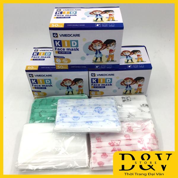 Giá bán Khẩu trang y tế 4 lớp hộp 50 cái Kháng Khuẩn có tem, logo trên kt  Đạt Tiêu Chuẩn ISO Và Kiểm Định Bộ Y Tế (3 màu xanh, trắng và xám than hoạt tính)