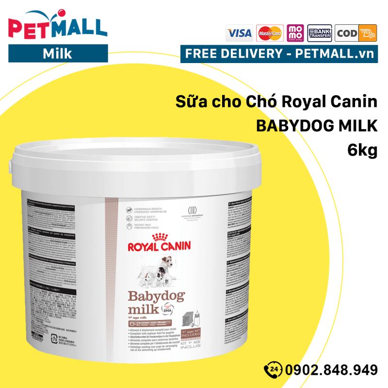 Sữa cho Chó Royal Canin BABYDOG MILK - 6kg