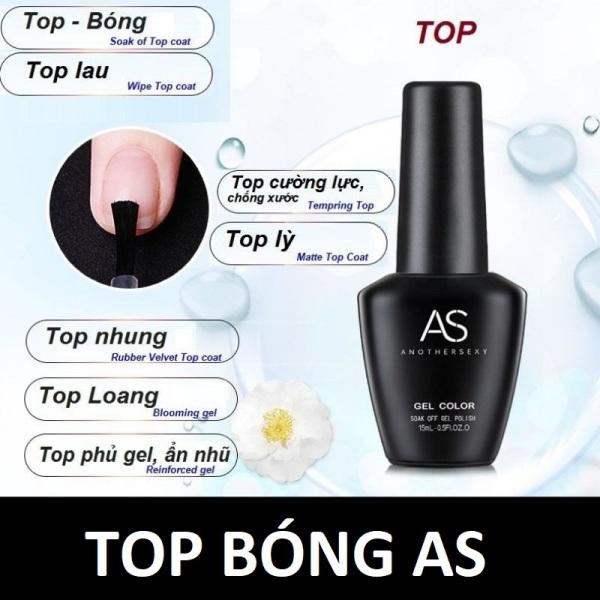 Top AS Sơn Gel Top Bóng AS Nail - sinailmi giá rẻ