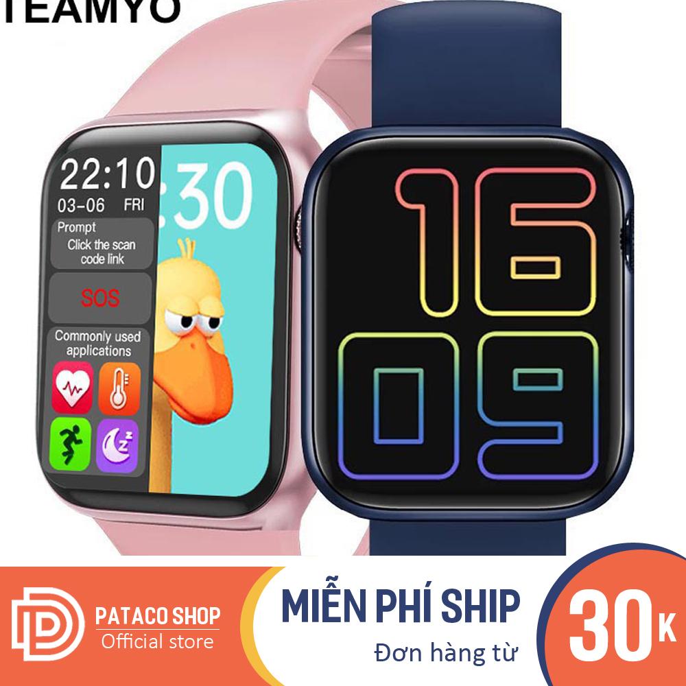 Đồng hồ thông minh Smart Watch Seri 6 HW12 Touch Screen Full 1.75 Inch, Chip S6 đa chức năng, Pin Khủng, Chống nước tốt