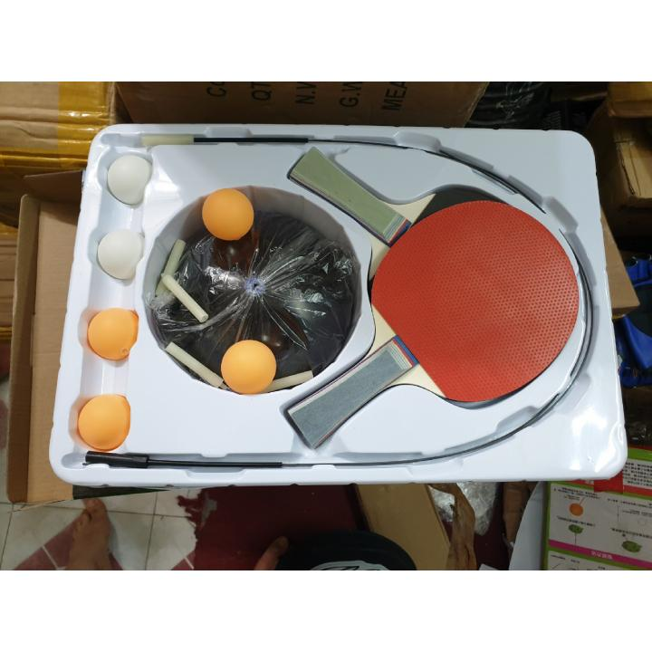 Bảng giá Bóng bàn phản xạ Free Tab  - tặng kèm 1 bóng, 02 vợt, 02 dây cáp đàn hồi, 01 chân đế ABS nhựa cao cấp