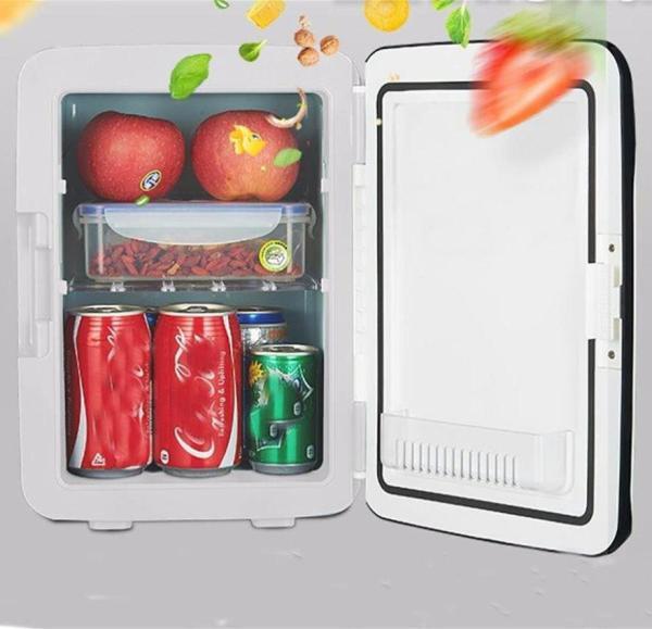 Tủ lạnh, tủ mát mini 10 Lít, hai chiều nóng lạnh dùng cả trong nhà, trên oto, xe hơi Cao cấp Agiadep,Tủ lạnh mini 2 chế độ nóng lạnh 10 lít (Bảo hành 1 đổi 1 trong 7 ngày)