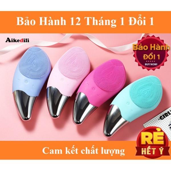 Máy rửa mặt mini massage tích hợp sóng âm BR-1020 - Công Nghệ Mới Làm Sạch Da