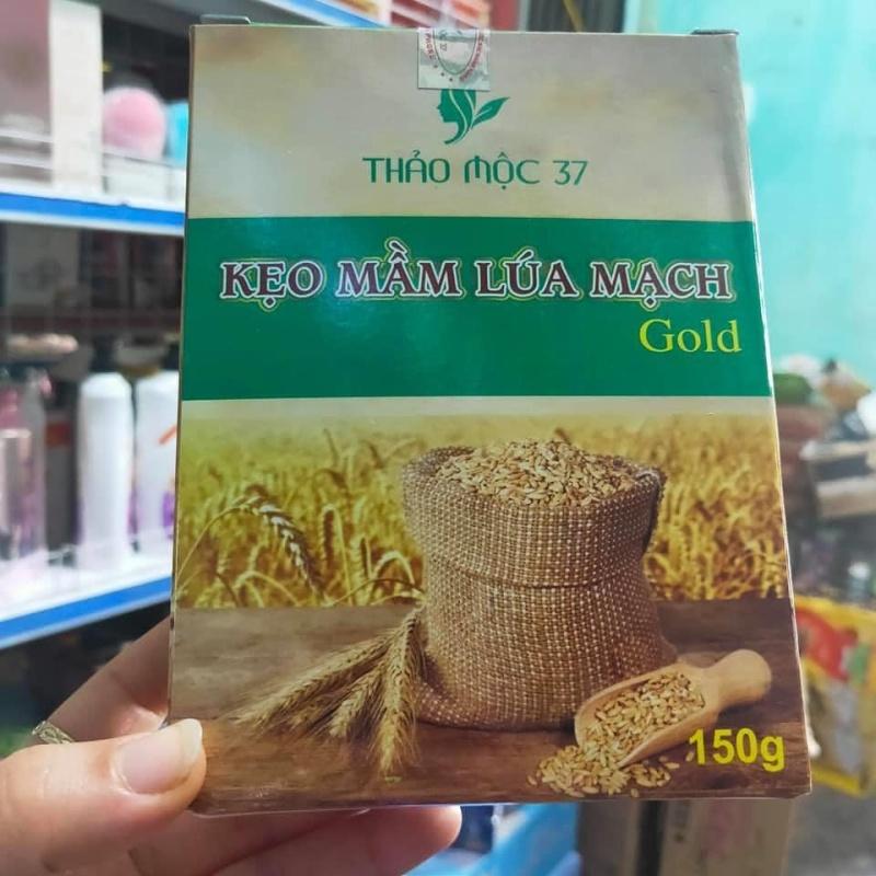 2 HỘP KẸO MẦM LÚA MẠCH GOLD cao cấp