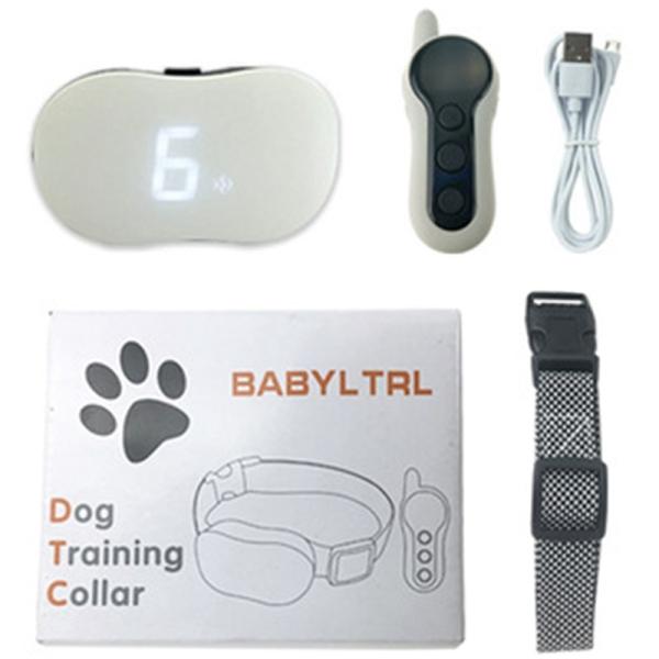 Pet Dog Anti Barking Device USB Electric Ultrasonic Dogs Training Collar Dog Stop Barking Vibration Anti Bark Collar