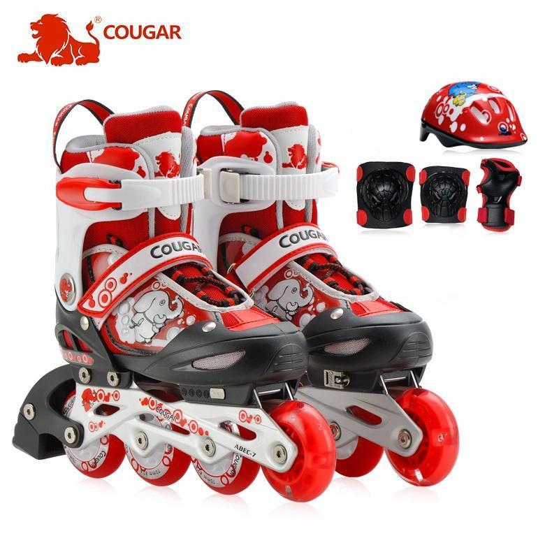 Phân phối Bộ giầy, mũ, bảo vệ trượt Patin Cougar cao cấp MZS737