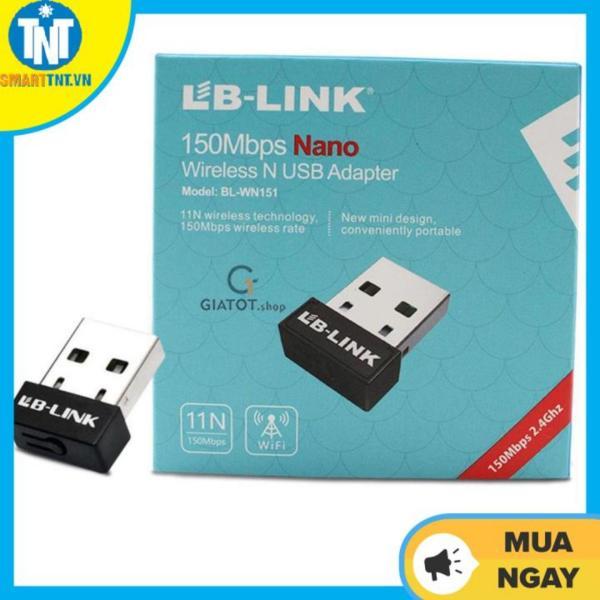 Bảng giá USB thu sóng wifi LB-Link tốc độ 150 Mbps chuyên dụng cho đầu thu kỹ thuật số Phong Vũ