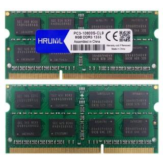 Ram DDR3 8GB 1333MHZ Laptop Memoria Sdram PC3-10600S 1.5V 204Pin thumbnail