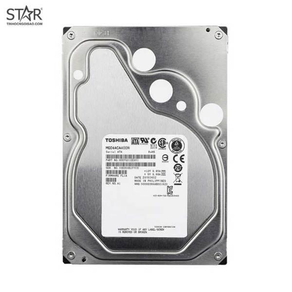 Bảng giá [HCM]Ổ cứng HDD Toshiba 4TB Enterprise Hard Drive (MG04ACA400N) Phong Vũ