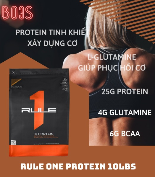 RULE ONE PROTEIN - R1 WHEY - WHEY PROTEIN 10LBS