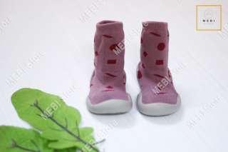 (Ảnh thật 100%) Giày bún tập đi cao cổ, dệt 2 lớp, chống trượt, đế mềm cho bé yêu nhiều mẫu
