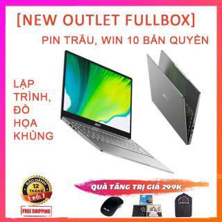 (NEW OUTLET FULLBOX) Acer Swift 3 2020 (SF314-42), Chạy Đa Nhiệm, Lập Trình Siêu Mạnh, Pin Khủng, Ryzen R5-4500U, RAM 8G, SSD NVMe 512G, VGA AMD Vega 6, Win 10 Bản Quyền thumbnail