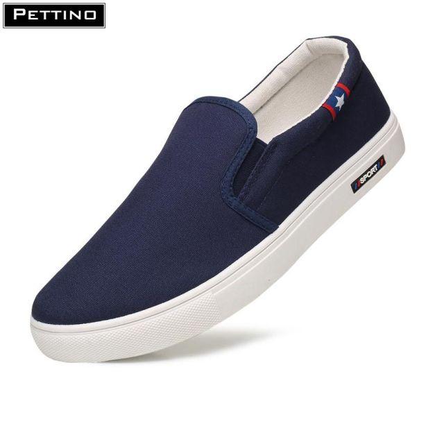 Giày Lười nam vải sợi thoáng khí phiên bản giới hạn thanh lịch chất liệu cao cấp bền màu Pettino LLTL03 giá rẻ