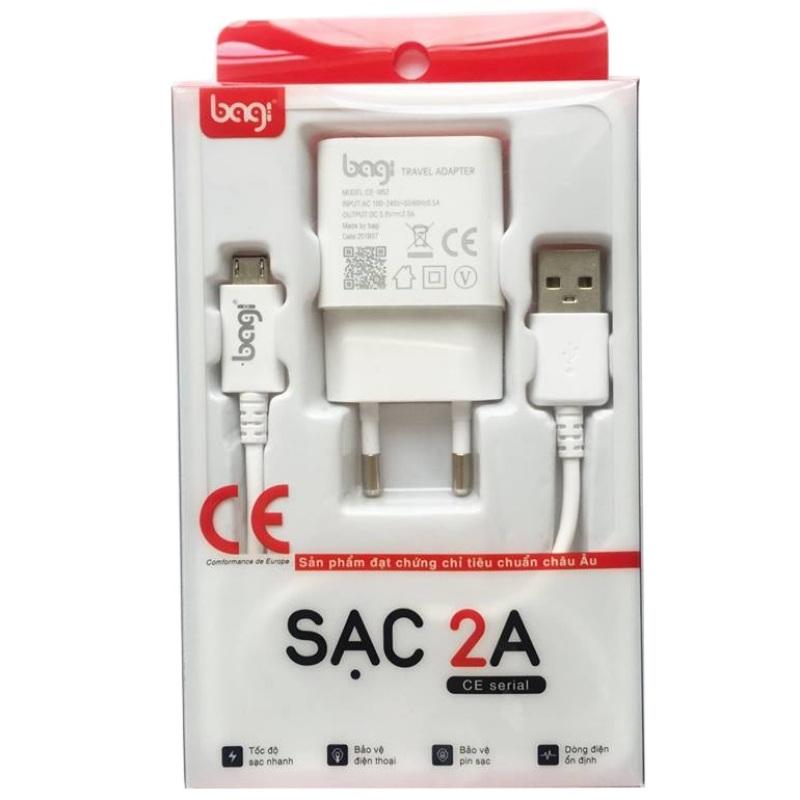 Combo sạc cho samsung củ 5V-2A và cáp sạc micro usb 1.2m